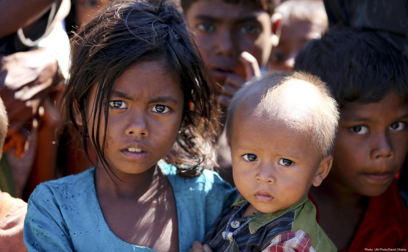 Valerie Amos Visits Myanmar